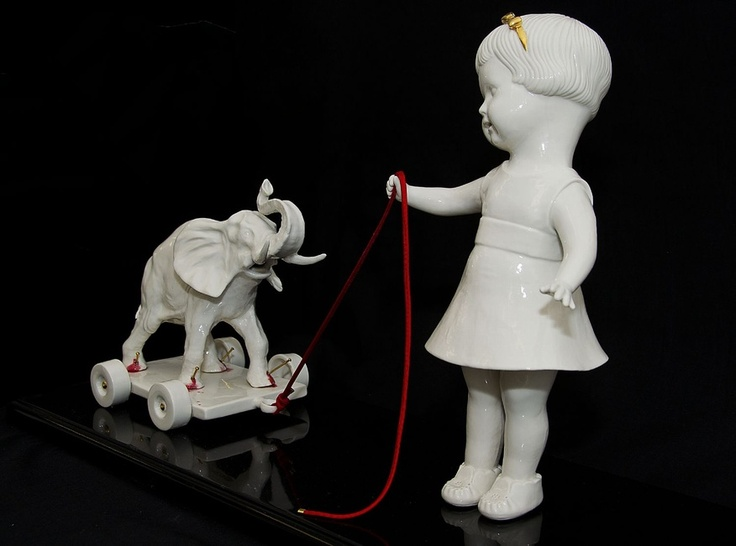 Best Maria Rubinke Images On Pinterest Ceramic Art Ceramic - Amazingly disturbing porcelain figurines by maria rubinke