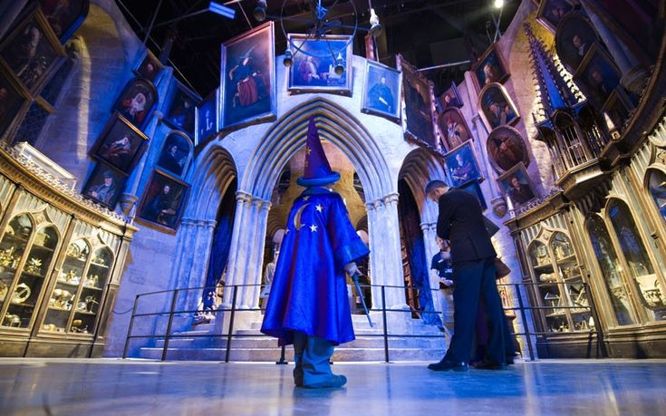 Making Of Harry Potter - Warner Brothers is opening all the sets from the movies for tours! You can even use the green screen so it looks like your flying on a broom