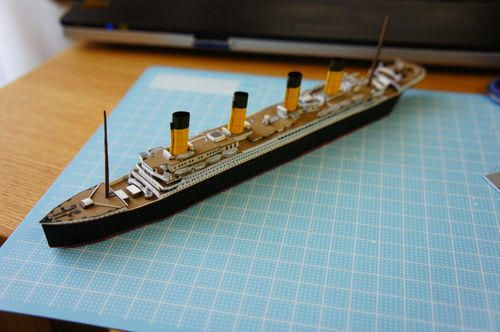RMS Titanic Ver.2 Free Ship Paper Model Download…