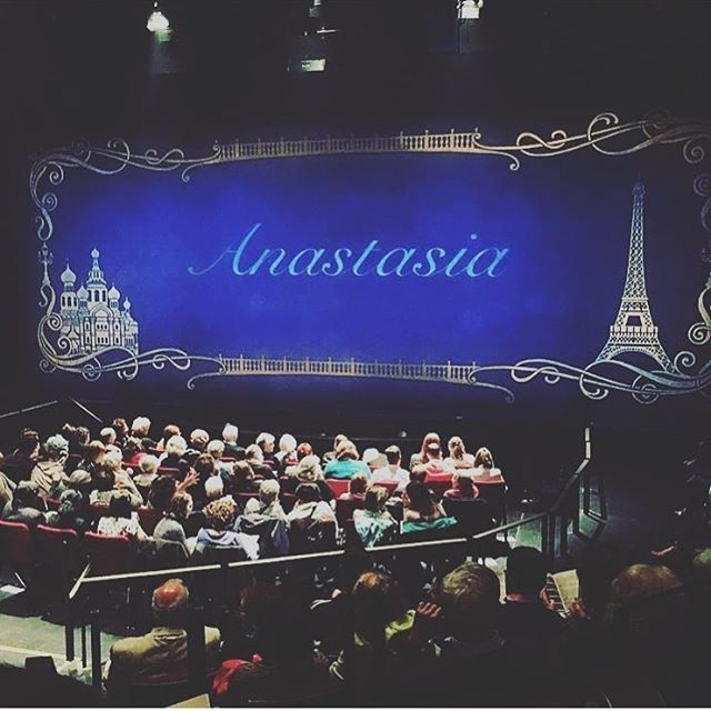 Last night was the first preview of Anastasia!! Really wish that I could be I…