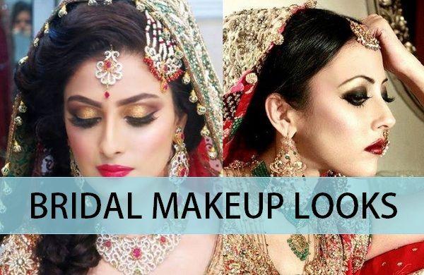 10 Beautiful Indian Bridal Makeup Looks