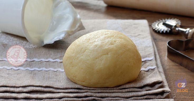 La pasta frolla allo yogurt, perfetta per biscotti o come base per crostate.