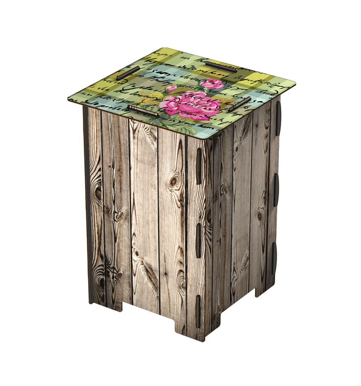 MIHO chattering roses stool