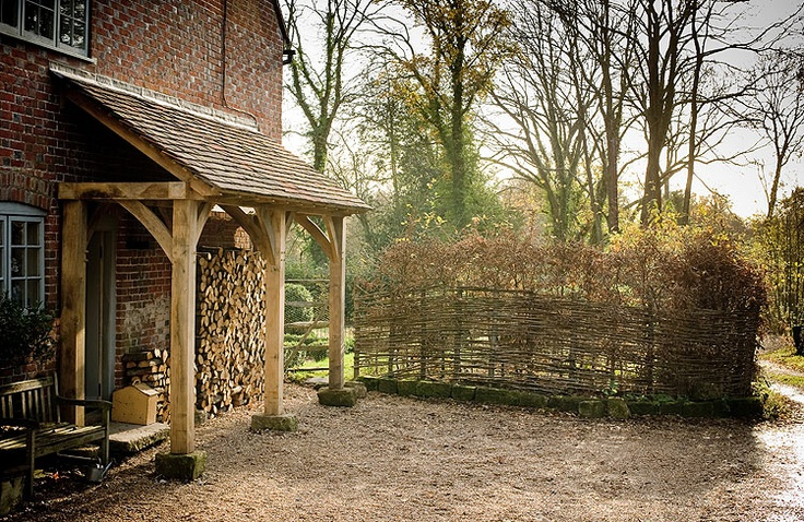 Covered Log store - want