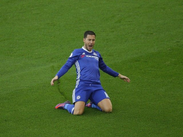"Eden Hazard hails ""unbelievable win"" over Everton"