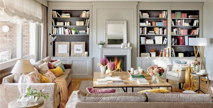En este piso regio se combinan mueble PMPs de herencia y un look clásico actualizado.