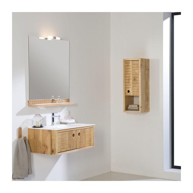 Mueble de ba o madera embejecida casa nueva muebles de - Muebles de bano en guadalajara ...