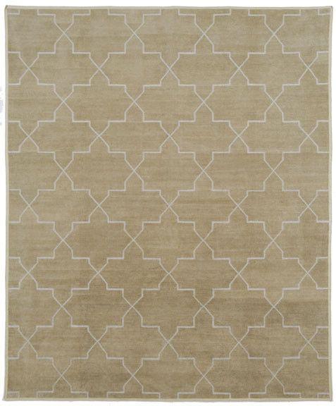 Sand Brooke Chenille Metallic Carpet