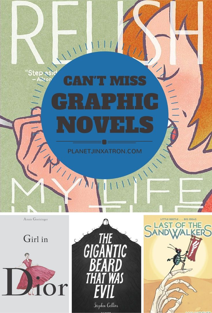 8 More Graphic Novels You Should Read - a comics recommendation list by Planet Jinxatron