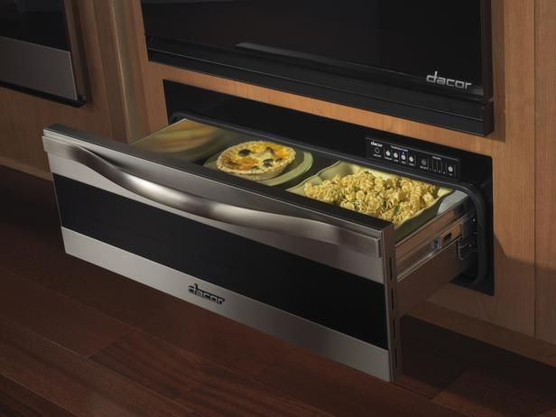 Warming drawers are great for parties and juggling multiple dishes during holiday meals.