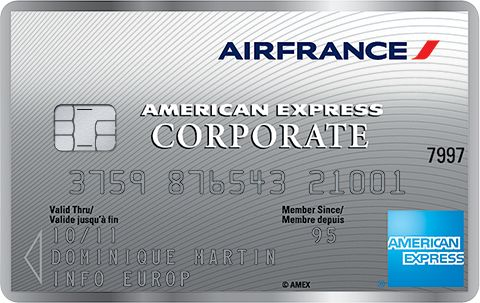 FR AE 003 Air France American Express Corporate card