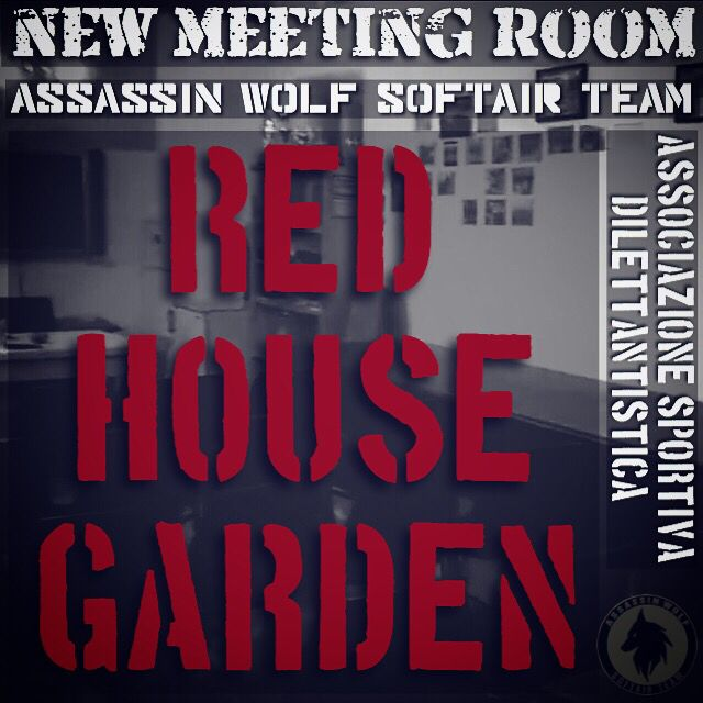 Red House Garden  Assassin Wolf Meeting Room