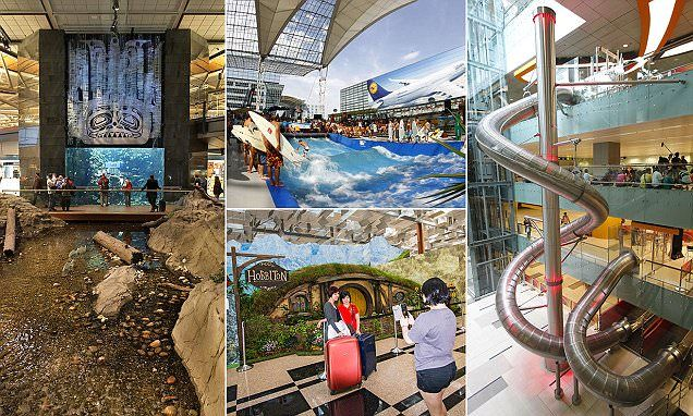 You will WANT an airport delays at these incredible airports