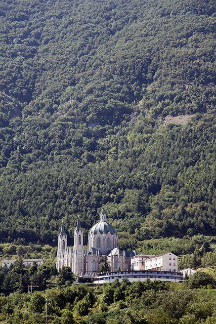 Chiesa della Madonna Addolorata di Castelpetroso - Isernia, Molise, Italy