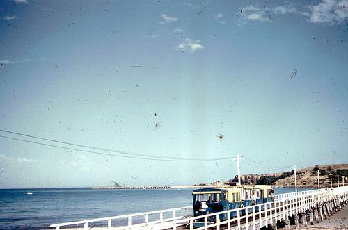 Flickr • Victor Harbor causeway to Granite Island South Australia • Granite Island • 1960