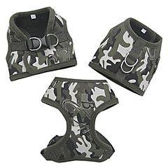 Camouflage Jeg Shape Cozy Soft Harness til kæledyr Hunde (as... – DKK kr. 74