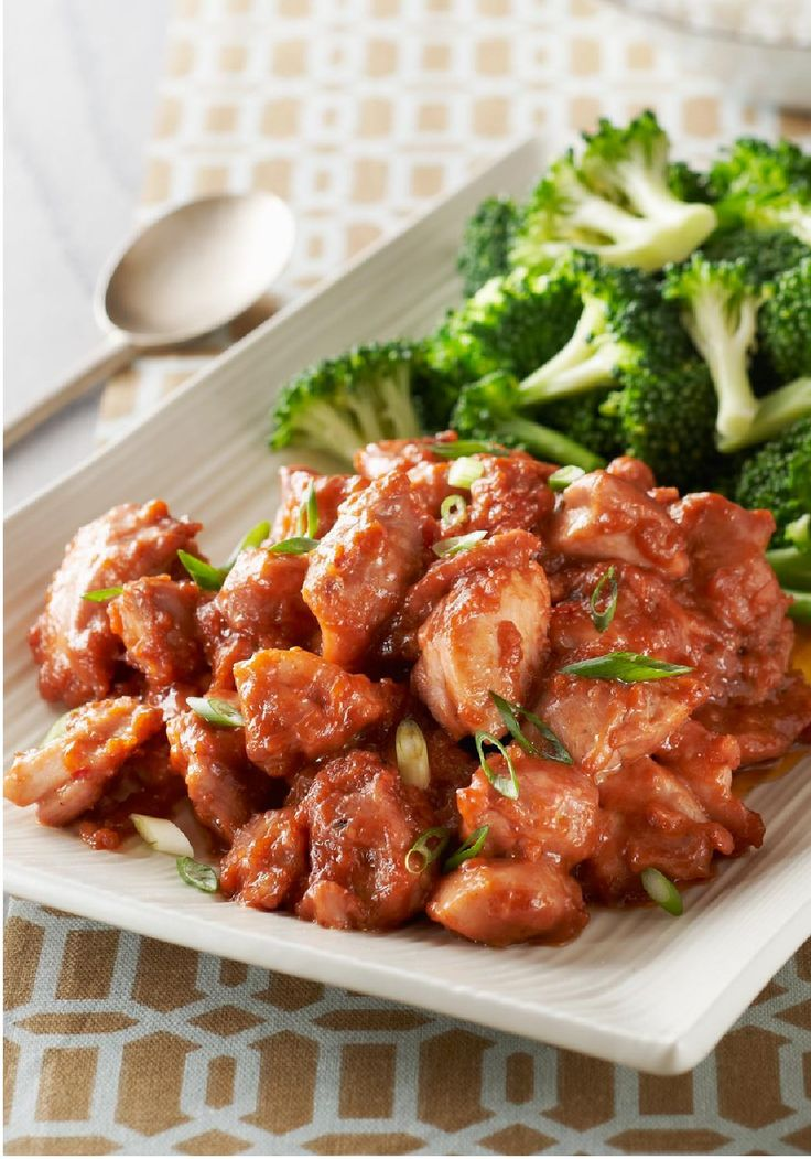 Kung Pao Chicken -- Skip the takeout and try this Asian-inspired healthy living recipe instead--ready for the dinner table in just 30 minutes!