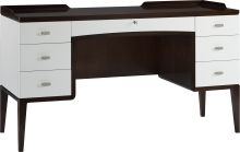 Crawford Vanity - Baker The Bill Sofield Collection DIMENSIONS Width: 53.5 inches Depth: 20.75 inches Height: 30 inches