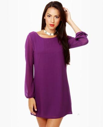 Plum colored dress<3