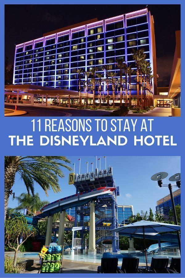 11 Gründe für einen Aufenthalt im Disneyland Hotel | Hotelbewertung Disneyland | #californ …