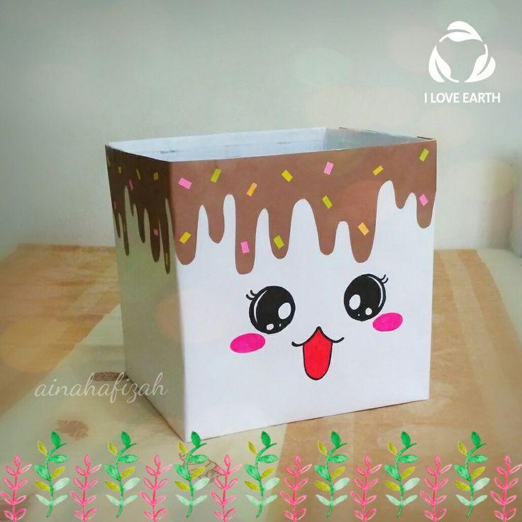 Cute recycle box