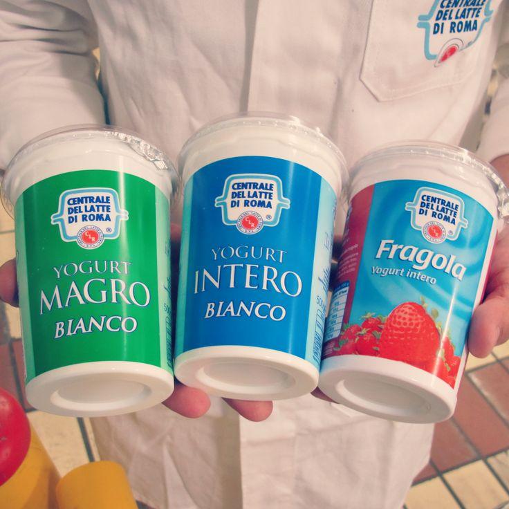 Verde, bianco e rosso...noi della Centrale del Latte di Roma festeggiamo così la Festa della Repubblica! #yogurt #centralelatteroma