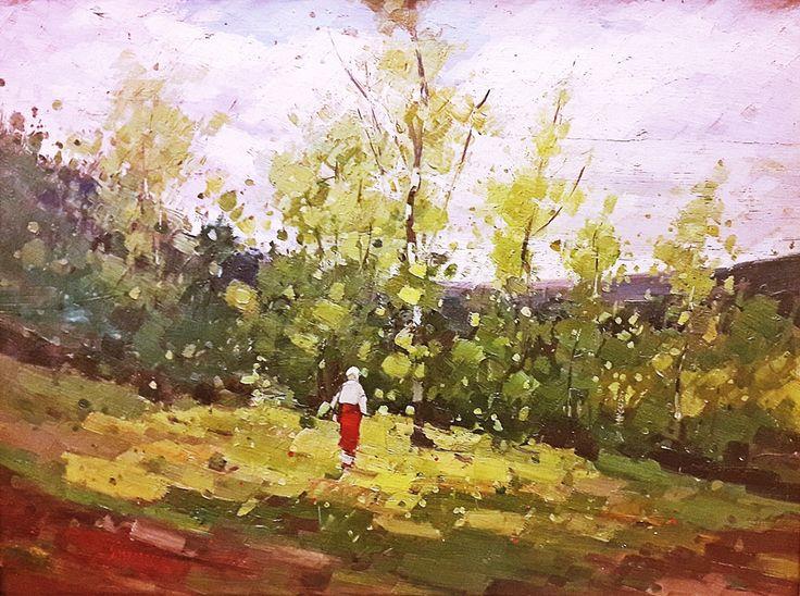 Nicolae Grigorescu (1838-1907) Spre luncă / To the meadow