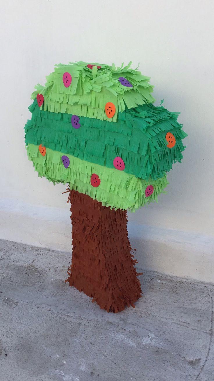 17 mejores ideas sobre pi ata mexicana en pinterest - Como hacer un arbol de papel grande ...