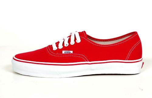 Vans Authentic - red