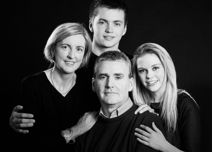 Portraits the picture rooms family portrait dublin studio monotone
