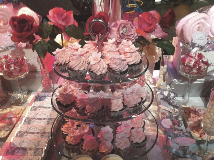 Pink Styled Candy Buffet at The Set Theatre, Langtons, Kilkenny, Ireland