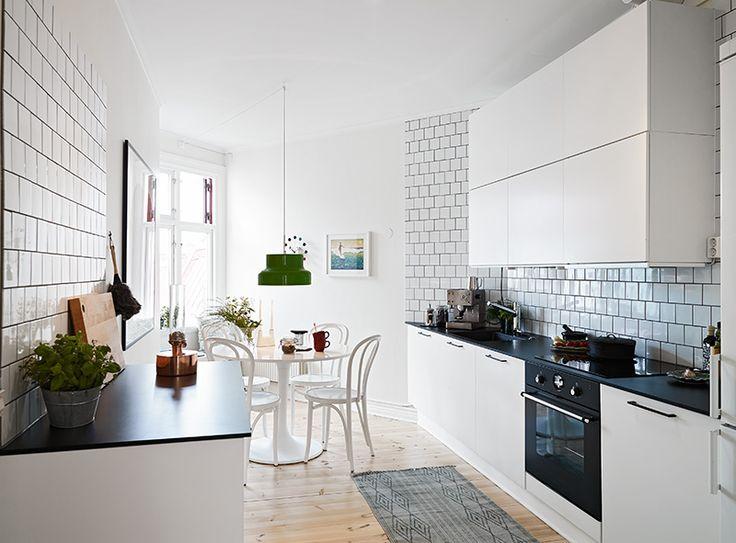 Kitchen Tiles Black Worktop inside homes | kitchens | pinterest | kitchen unit, white tiles