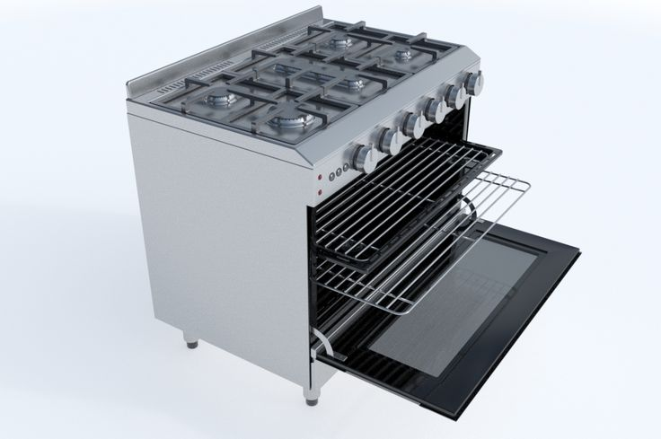 90cm Gas Range Oven by Graphics834 on Creative Market
