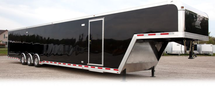 ATC Trailers - Enclosed Gooseneck Car Haulers