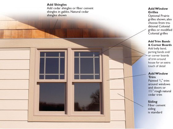 9 best exterior trim ideas images on pinterest craftsman for Craftsman exterior trim details