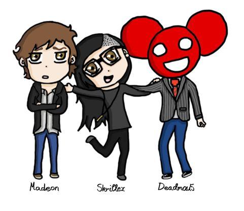Madeon, Skrillex, & Deadmau5 | Skrillex & Friends ...