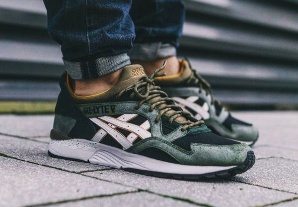 size 40 5a3a1 8f1ac hot asics gel lyte 5 green white 099d2 f27b9