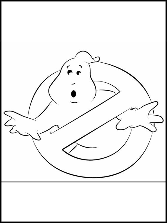 Printable Coloring Pages For Kids Ghostbusters 4 Coloring Pages Coloring Pages For Kids Ghostbusters