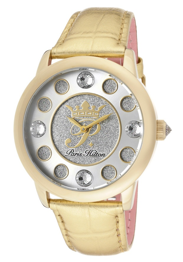 Price:$69.99 #watches Paris Hilton PH13181JSG-04, With designs that embody the effortlessly chic and carefree nature of Paris herself, the Paris Hilton timewear collection offers trend setting designs to suit any occasion.