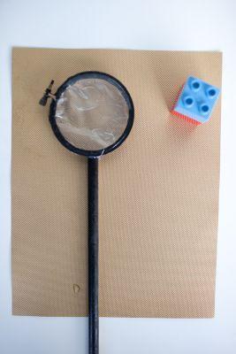 DIY Magnifying glass. Fun and educational!