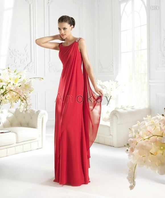 49 best Rote Abendkleider images on Pinterest | Red bridesmaid gowns ...