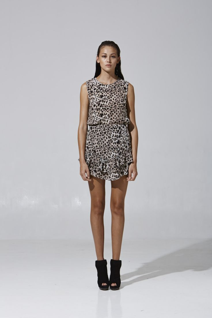 Leopard Top and Skirt | Party collection 2013