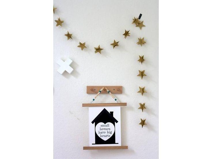 Sparkling Paper Slinger 3D ster goud