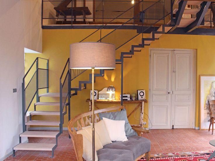 Décoration d'une maison à la campagne en Normandie - Création d'un escalier- Juliette Cheneau ID