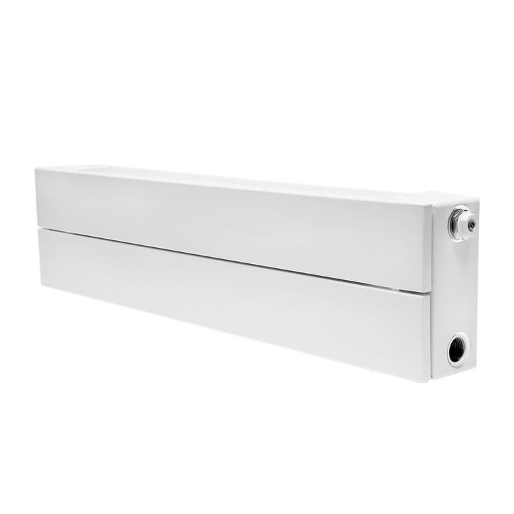 Decor Series - 2 Tube Hot Water Panel Radiator, White