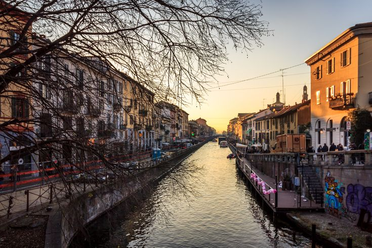 Naviglio Grande #Milan #Italy