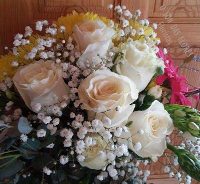 Ó son das flores: Una fantástica combinación de flores que crean con...