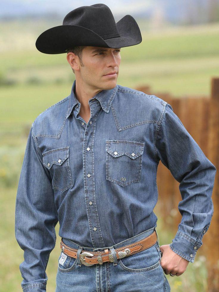 Mens Western Denim Shirts