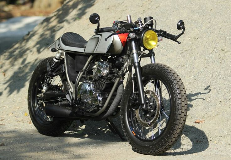 Yamaha Scorpio 225cc Neo caferacer Custom by damar custom garage Jakarta - Indonesia