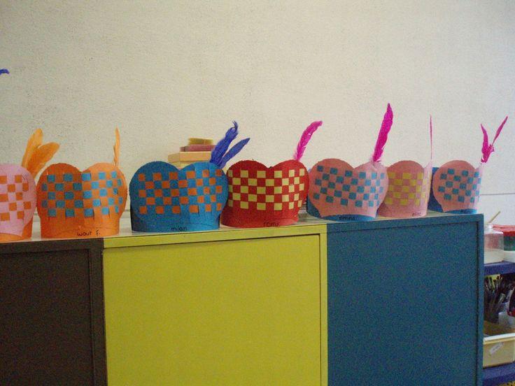 Knutselen met Sinterklaas: #DIY Pietenmuts vlechten